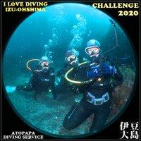 伊豆大島で体験ダイビングにチャレンジ
